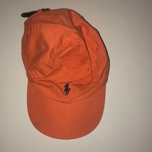 Orange Polo Hat
